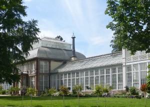 Gewächshaus am Schloss Wilhelmshöhe