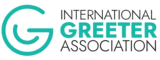 Das Logo der International Greeter Association